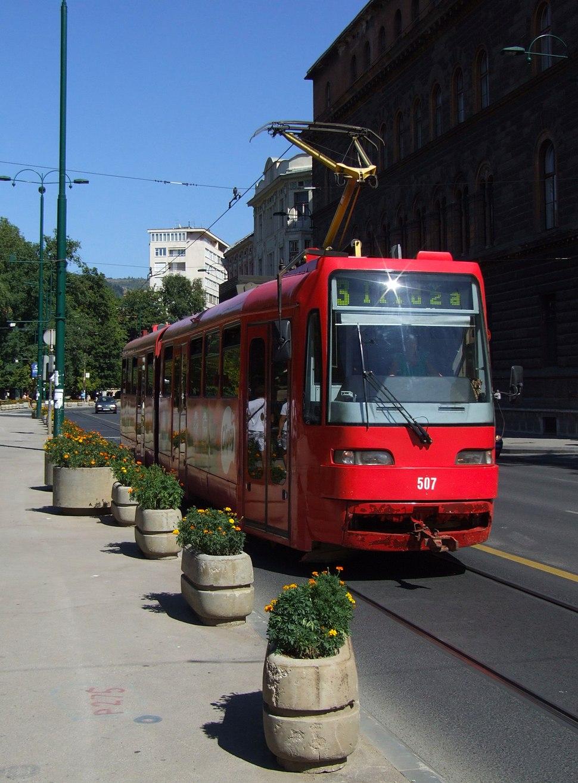 Tram Satra II, Sarajevo