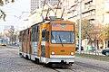 Tram in Sofia near Macedonia place 2012 PD 040.jpg