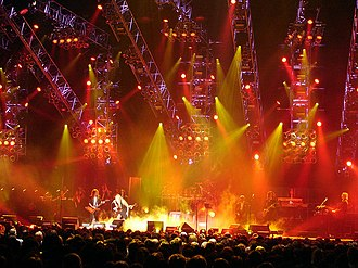 Trans-Siberian Orchestra - TSO are known for their elaborate live shows which employ lights, lasers and fog machines.