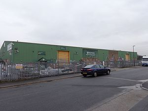 Travis Perkins - A typical Travis Perkins yard.