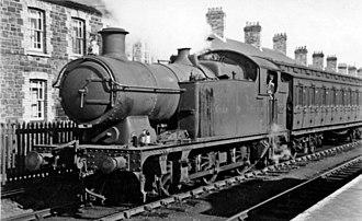 Treherbert railway station - Image: Treherbert local train geograph 2561156 by Ben Brooksbank