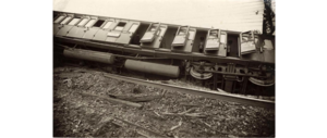 Houten train accident - Image: Treinramp Houten 1917 (3)