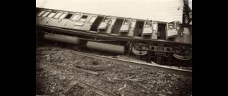 Houten train accident - Image: Treinramp Houten 1917 (3)
