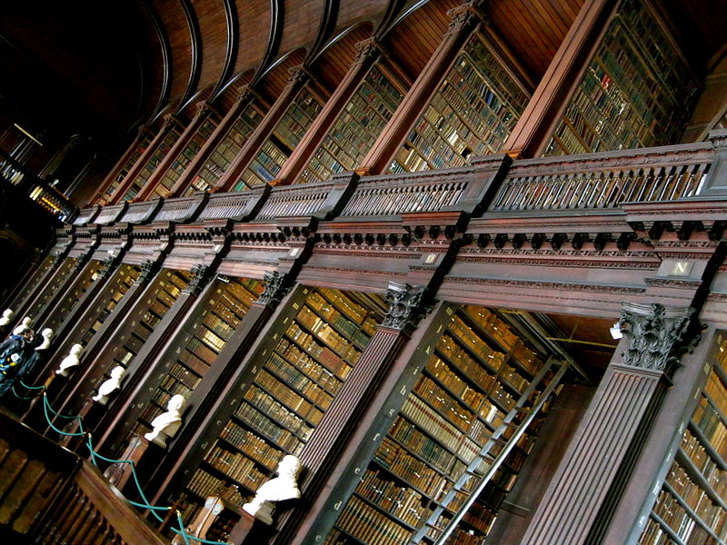 Trinity College Library (there's a bookshop!). From 28 Best Bookshops in Dublin