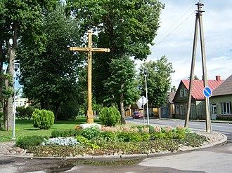 Troškūnai - Centre of Troškūnai