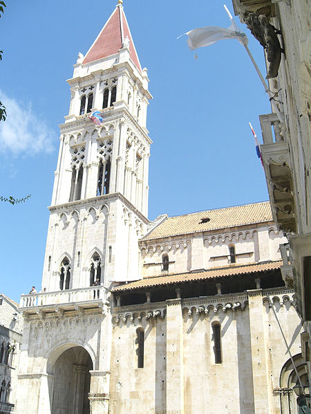 File:Trogir cathedral from the town hall.jpg