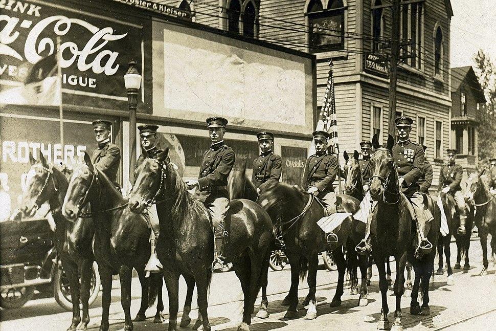 Troop B, 1st Cavalry Regiment, Washington National Guard