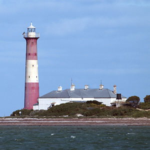 Troubridge Island - Troubridge Island Lighthouse
