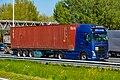 Truck Spotting on the A16 Direction Zwijndrecht 19 04 2019.... Not the Best spot with the Barrier , But better than Nowt . (33766634608).jpg