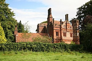 Great Snoring - The Old Rectory, previously a manor house