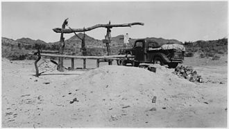 Cabeza Prieta National Wildlife Refuge - Tule Well on El Camino Del Diablo in 1938