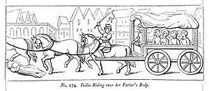 Tullia riding over her father's body. Wellcome L0009758.jpg