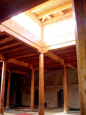 Emin Minaret - Inside mosque