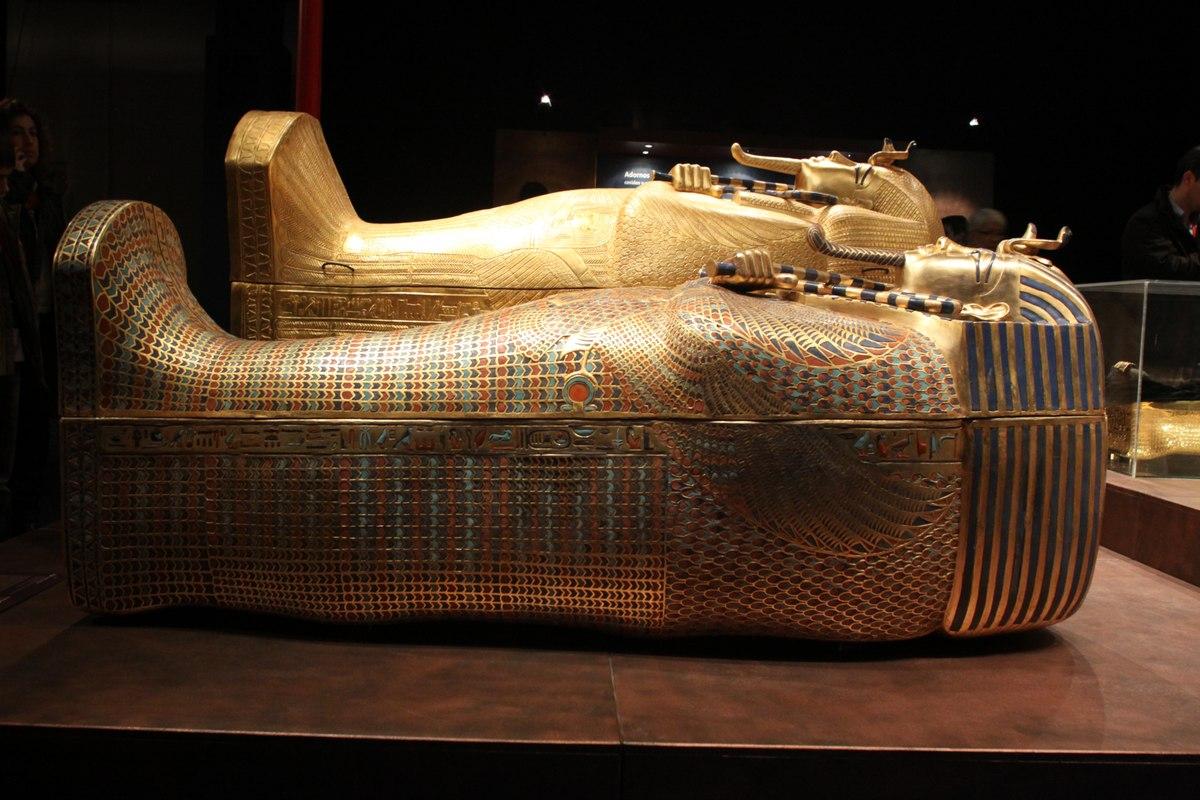 Tutankhamon sarcofago