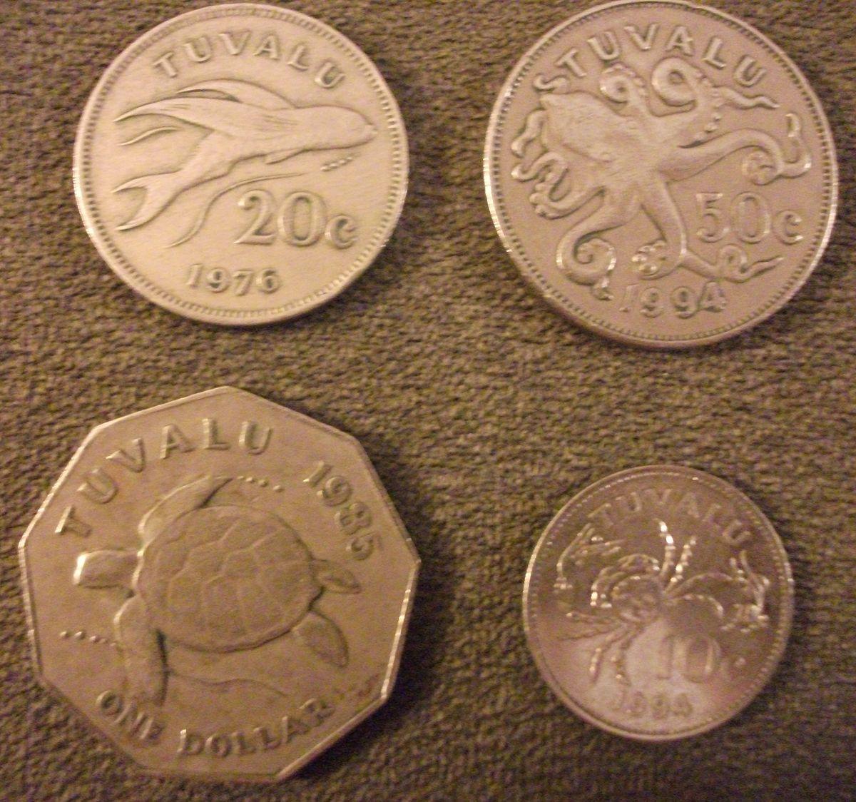 Tuvaluan dollar - Wikipedia