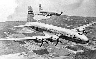 1703d Air Transport Group - Two Douglas C-74 Globemasters of the 1703d Air Transport Group