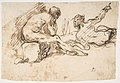 Two Nude Male Figures, One Seated and One Reclining MET DP809909.jpg