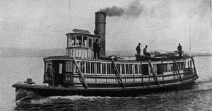 Dove (steamboat) - Typhoon, circa 1889.