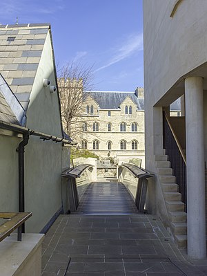 Pembroke College, Oxford - The bridge connecting Pembroke's two new quads with the Chapel quadrangle.