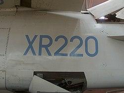UKMilitarySerial-XR220