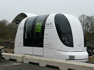 Personal rapid transit Public transport mode