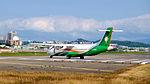 UNI Air ATR 72-600 B-17005 Departing from Taipei Songshan Airport 20151003c.jpg