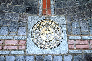 historical walking trail in Boston, Massachusetts