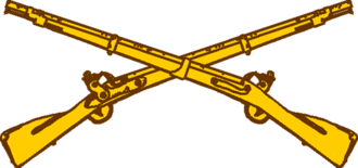 Robert Alexander (United States Army officer) - Image: USA Army Infantry Insignia