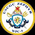 USCGC Zephyr WPC-8 Crest.png
