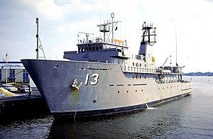 USNS Adventurous (T-AGOS-13) - Image: USNS Adventurous (T AGOS 13)