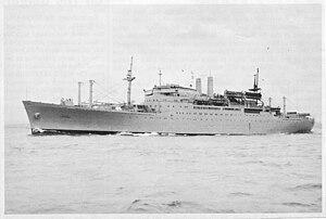 USNS Geiger (T-AP-197) - USTS Bay State IV
