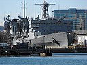 USNS Supply (T-AOE-6) in a drydock at Boston, Massachusetts (USA), on 7 November 2009.jpg