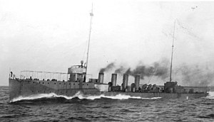 Balch during trials, 22 February 1914