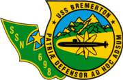 USS Bremerton SSN-698 Crest.png