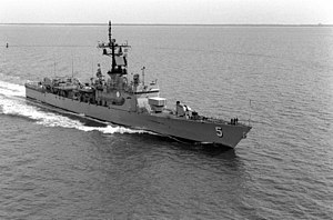 USS Richard L. Page (FFG-5) underway off Hampton Roads, 7 June 1976.jpg
