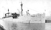 USS Wilhelmina (ID-2168) in Boston 13 May 1919