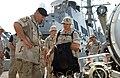 US Navy 020721-N-3580W-010 Gen. Franks visits aboard USS Hopper.jpg