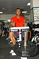 US Navy 040812-N-0780F-018 U.S. Olympic Track ^ Field team sprinter Bernard Hollywood Williams.jpg