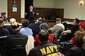US Navy 070503-N-3271W-006 Director for Operational Plans and Joint Force Development, Joint Staff, Rear Adm. Richard J. Mauldin, meets with a local group of the Fleet Reserve Association, thanking them for their service and en.jpg
