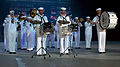 US Navy 070905-N-5174T-007 Sailors attached to the Pacific Fleet Band perform during the final dress rehearsal for the Kuala Lumpur International Tattoo 2007.jpg