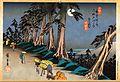 Ukiyoe calendar Aug. 2010 hiroshige -- kiso kaido 69 tsugi.jpg