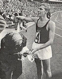 Ulf Högberg Swedish middle-distance runner