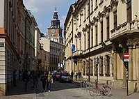 UlicaBracka-WidokNaPółnoc-POL, Kraków.jpg