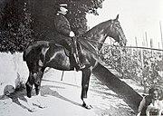 Ulrich Wille zu Pferd