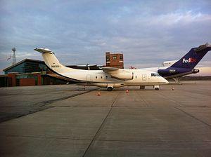 Purdue University Airport - Image: Ultimate Air Shuttle Dornier 328Jet