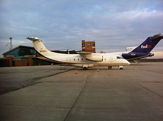 Purdue University Airport - Image: Ultimate Air Shuttle Dornier 328Jet