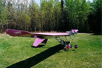 Ultralight aircraft (Canada) - The basic ultralight Ultraflight Lazair is the most produced Canadian-designed aircraft of any category.