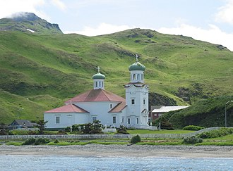National Register of Historic Places listings in Alaska - Church of the Holy Ascension, in Unalaska
