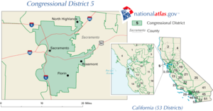 United States House of Representatives elections in California, 2008 - Image: United States House of Representatives, California District 5