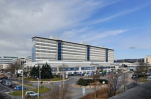 University Hospital of Wales - Image: University Hospital of Wales, Heath Park Cardiff geograph.org.uk 1736088